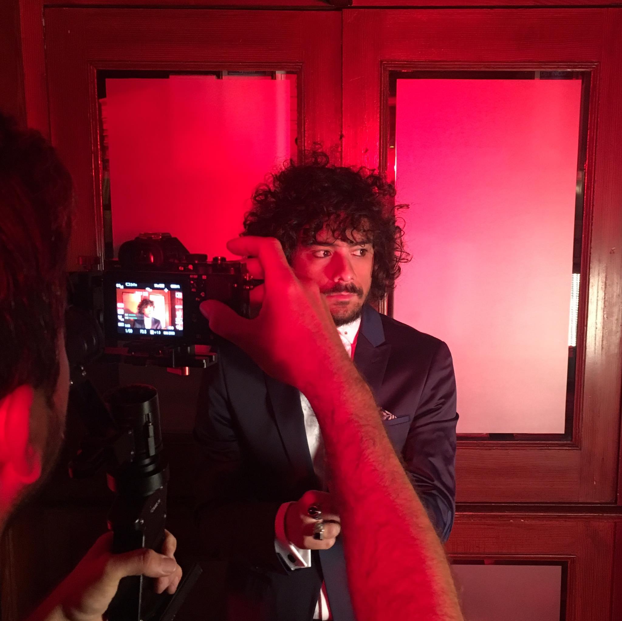 Comienza el rodaje del videoclip de «Ahora»