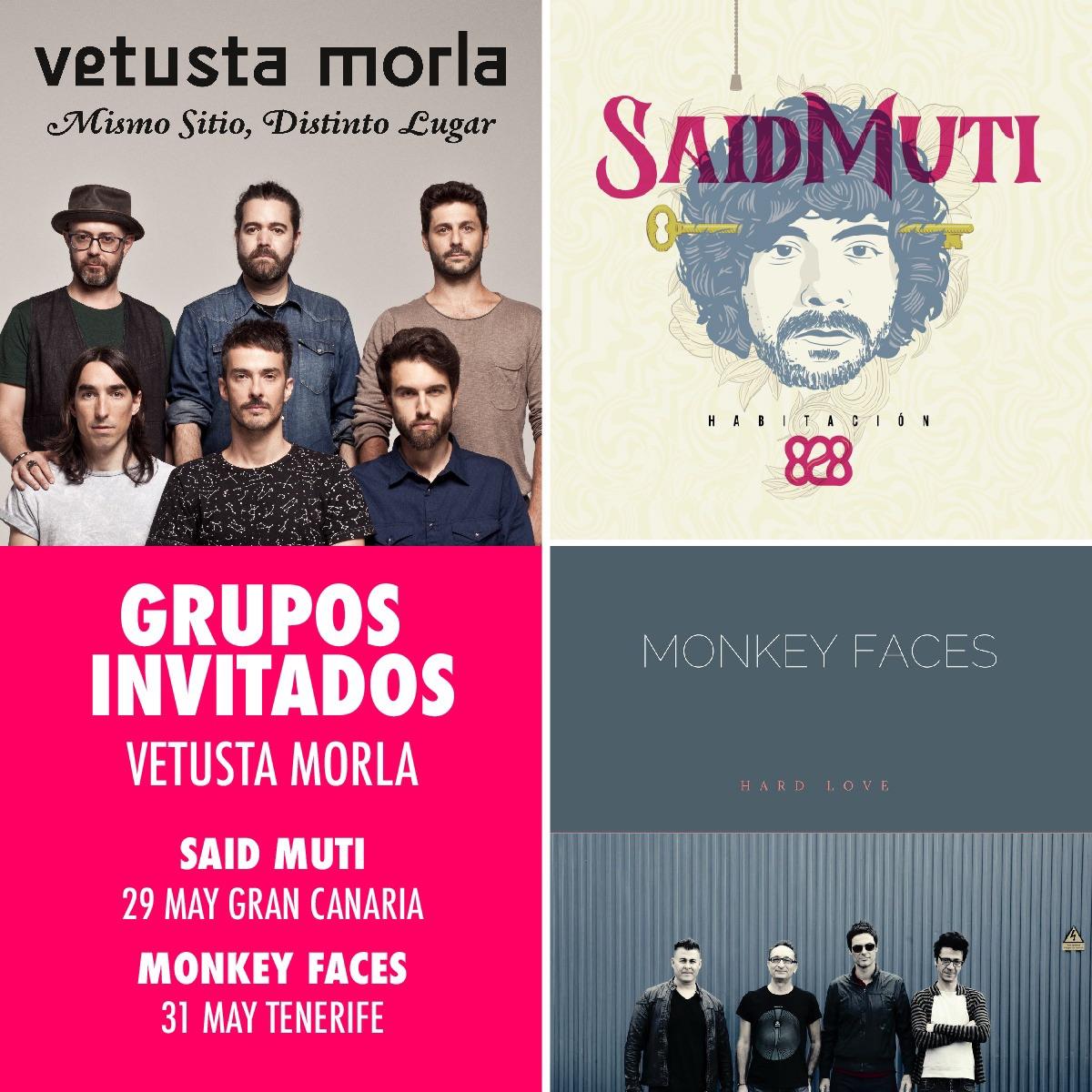 Said Muti será el artista invitado de Vetusta Morla