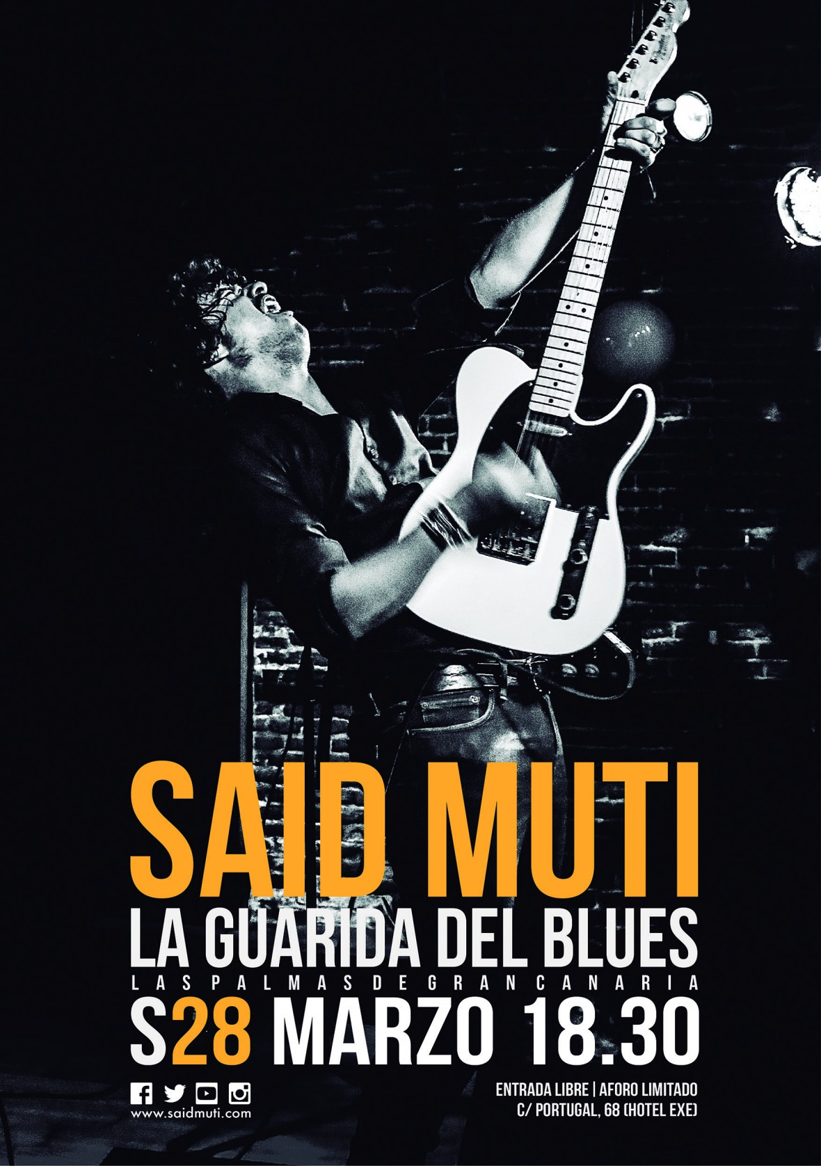 Said Muti La Guarida del Blues